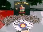Homem é preso com drogas no Chácaras Silvestres em Taubaté, SP
