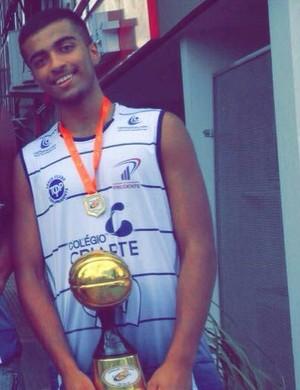 Rodrigo Praxedes Palmeiras Basquete Prudente (Foto: Rodrigo Praxedes / Arquivo Pessoal)