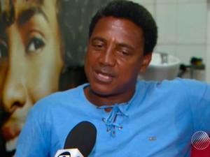 Irmão de Valdir diz que não há relação entre casos (Foto: Reprodução/ TV Bahia)