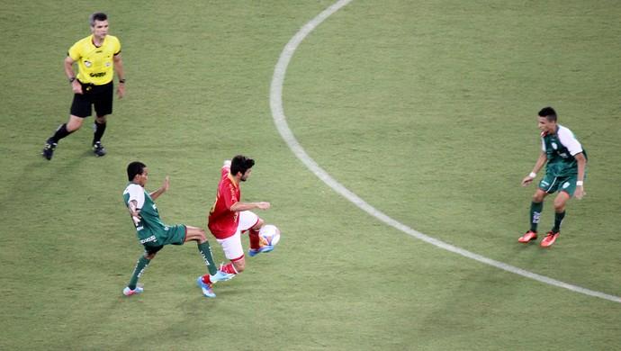 América-RN x Alecrim, na Arena das Dunas (Foto: Fabiano de Oliveira)