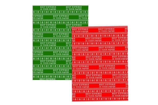 Guardanapos de papel da coleção de Natal  (Foto: Divulgação)