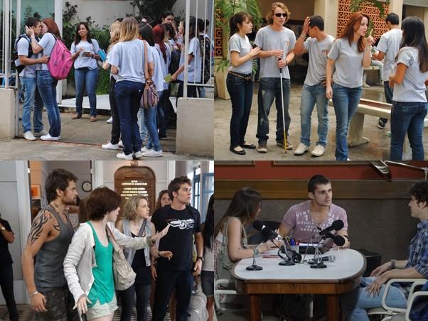Além do Primeira Opção, atual temporada tem também a Faculdade Soares da Rocha (Foto: TV Globo/Vídeo Show)