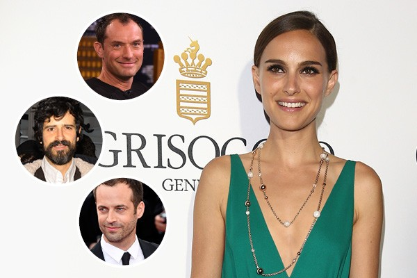 Natalie Portman, Jude Law, Devendra Banhart e Benjamin Millepied (Foto: Getty Images)