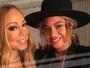 Mariah Carey parabeniza Beyoncé pelos gêmeos: 'Estou tão animada'
