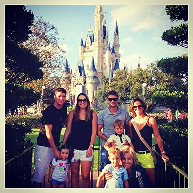 Thiago neves da Disney (Foto: Reprodução)