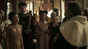 Rubião apreende Ega e Alexandra e é aclamado por Dom João