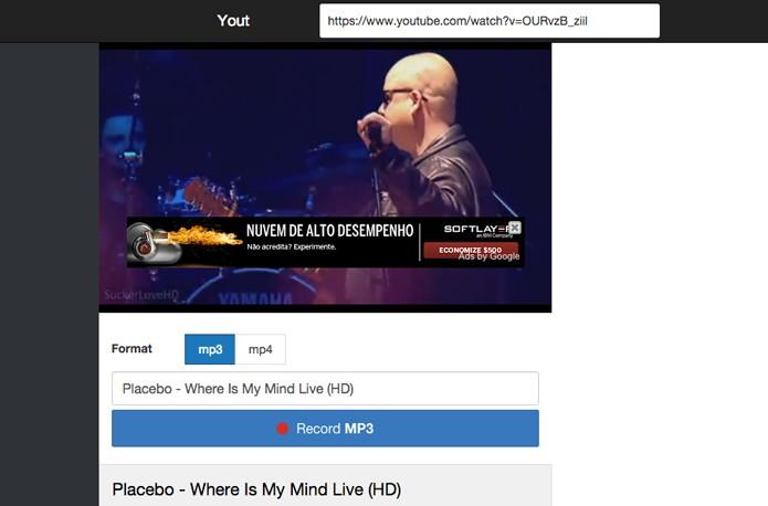 b84ea1b0b34 Yout.com  baixe vídeos e músicas do YouTube com muita facilidade ...