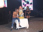 'Tenho orgulho de ser preto, funkeiro e favelado', desabafa Nego em show