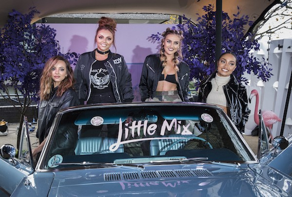A cantora Leigh-Anne Pinnock e suas colega do Little Mix (Foto: Getty Images)