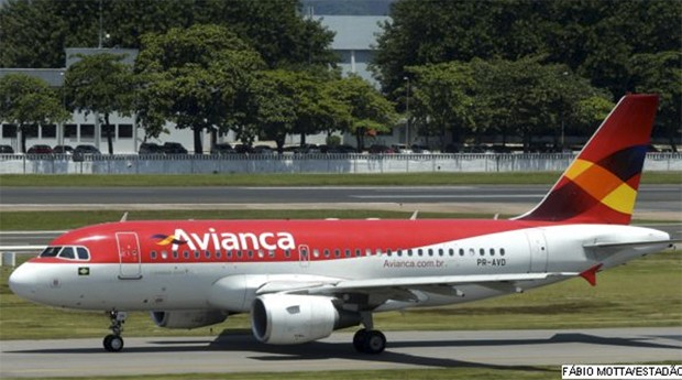 Avião da avianca (Foto: Estadão Conteúdo)