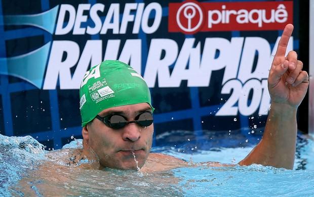 nicholas santos natação desafio raia rápida (Foto: Satiro Sodré/SSPress)