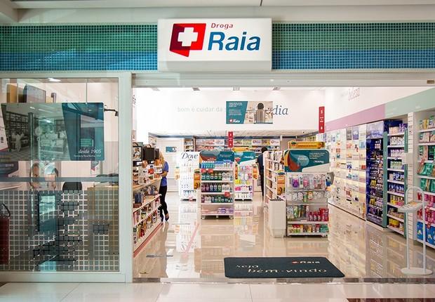 Fachada de farmácia da rede Droga Raia , da Raia Drogasil (Foto: Reprodução/Facebook)