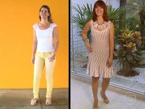 antes e depois transformação Você Mais Poderosa (Foto: Mais Você/ TV Globo)