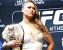 """Ronda volta a defender Diaz: """"MMA não deveria testar para maconha"""""""