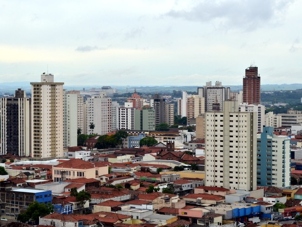 Mercado imobiliário em Piracicaba (Foto: Araripe Castilho/G1)