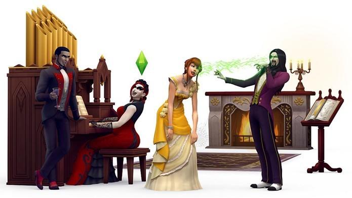 The Sims 4 receberá Vampire Game Pack que permite criar Sims vampiros (Foto: Reprodução/VG247)