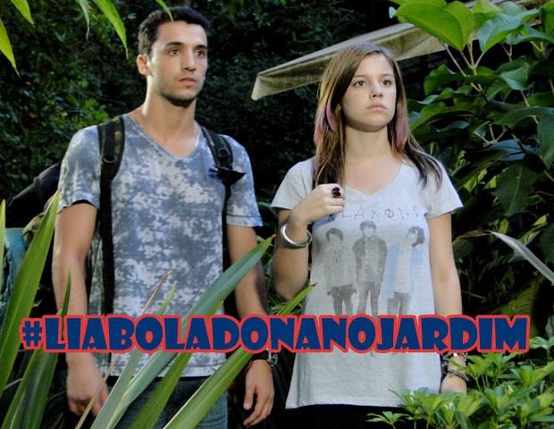 Tadinha da Lia! Tá difícil da marretinha ter paz, hein. (Foto: Malhação / TV Globo)
