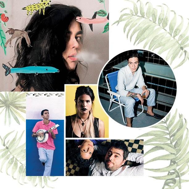 Novos talentos da música carioca (Foto: Reprodução)