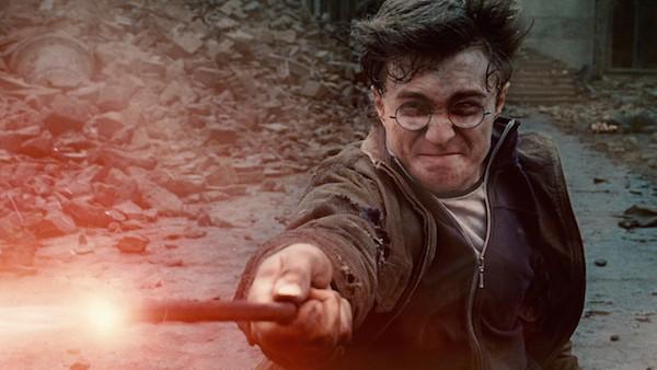 O ator Daniel Radcliffe no papel de Harry Potter (Foto: Reprodução)