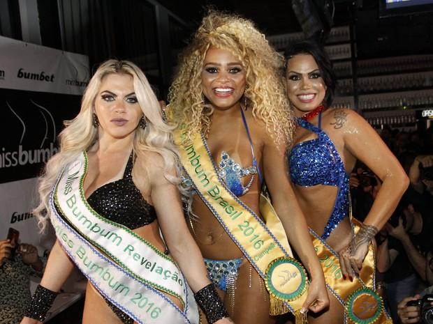 Resultado de imagem para Erika Canela é a primeira negra a vencer o Miss Bumbum