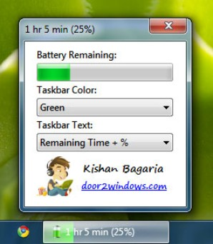 Medidor de bateria