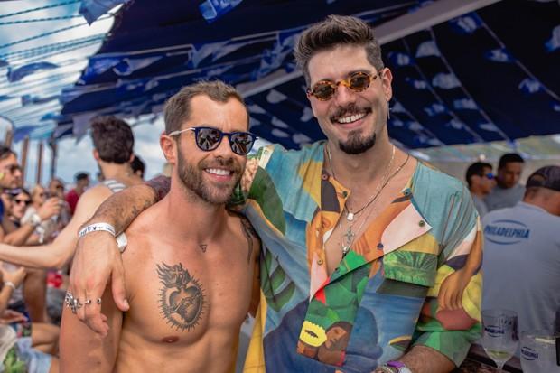 Raphael Rocha e Kadu Dantas (Foto: Raul Aragão)