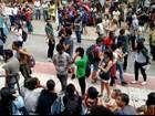 Grupos manifestam contra medidas do governo federal em Juiz de Fora