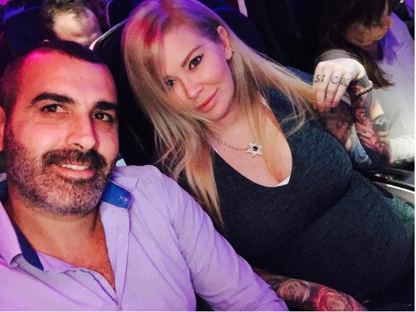 A atriz Jenna Jameson com seu marido (Foto: Instagram)