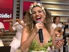 Clara Nunes era muito forte, afirma atriz que interpreta cantora no teatro