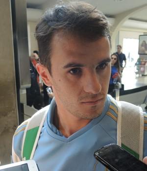 Lucas Palmeiras desembarque (Foto: Felipe Zito)