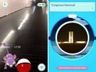 Pokémon GO tem pontos de captura em ministérios e no Congresso; fotos