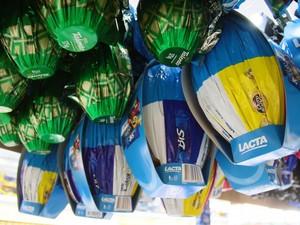 Variação no preço do ovo de pácoa chega a quase 50%, segundo aponta pesquisa do Procon (Foto: Daiane Mendonça/Secom-RO/Divulgação)