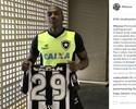 """Sassá tá de volta"": perto do jogo 100, atacante dá camisa nas redes sociais"