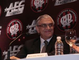 Presidente do Atlético-PR, Mario Celso Petraglia (Foto: Luis Alonso/Divulgação)