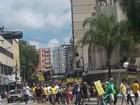 Protesto contra corrupção reúne moradores no Sul do RJ