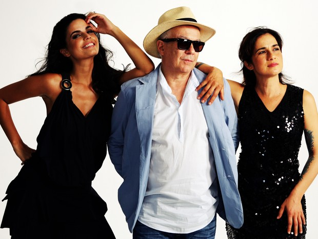 Emanuelle Araújo, Toni Costa e Lan Lan formam a Banda Moínho  (Foto: Divulgação/Sesi Cultural)