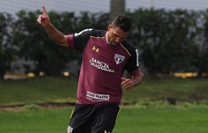 Gilberto São Paulo x Boca Raton (Foto: Rubens Chiri / saopaulofc.net)