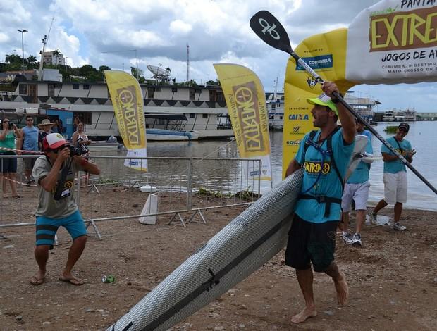Luiz Carlos Guida completa prova em 2 horas e 18 minutos (Foto: Hélder Rafael)