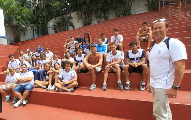 Scott Volkers treinador Minas tênis clube natação (Foto: Divulgação Minas Tênis Clube)