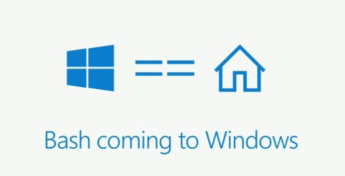 Microsoft anunciou que o Bash está chegando ao Windows (Foto: Divulgação/Microsoft)