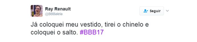web-comentário-bbbalela (Foto: Gshow)