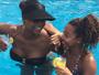 Adriana Bombom rebate críticas a malhação da filha, Olívia, de 14 anos