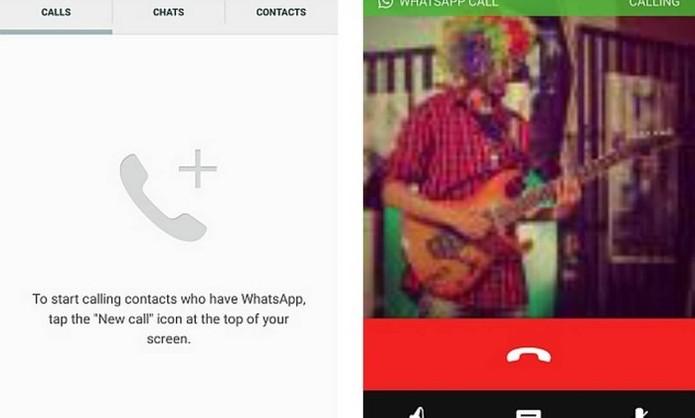 WhatsApp pode estar testando chamadas de voz no mensageiro (Foto: Reprodução/pradnesh07 )