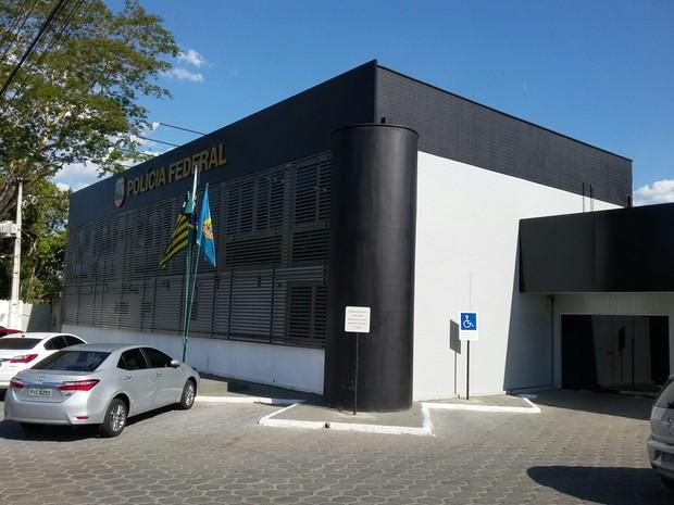 Departamento da Polícia Federal em Teresina (Foto: Ellyo Teixeira/G1)