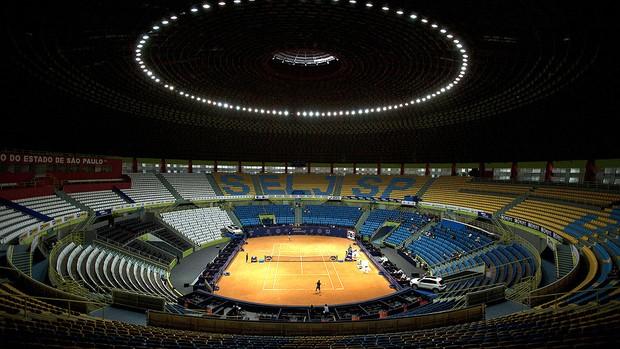 tênis ginásio ibirapuera aberto brasil (Foto: Agência EFE)