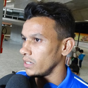Henrique, volante do Cruzeiro (Foto: Marco Antônio Astoni)