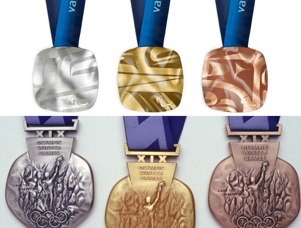 medalhas olimpíada inverno Salt Lake City e Vancouver (Foto: Agência Getty Images)