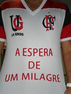 camisa do Flamengo eu acredito (Foto: Divulgação)