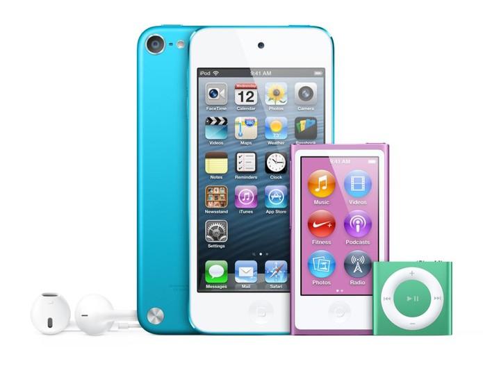 iPods revolucionaram a forma como usuário consome músicas (Foto: Divulgação/Aple)
