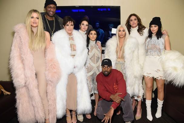 Família Kardashian/Jenner (Foto: Getty Images)